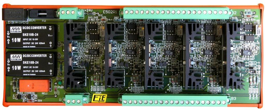 Commande électrovannes E502